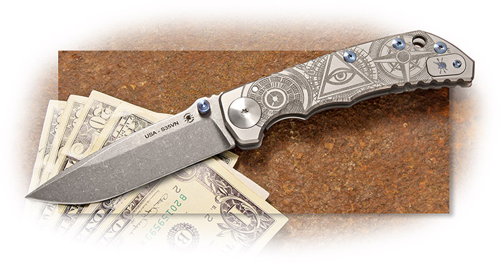 Spartan Blades - Harsey Folder 2019 Special Edition - The Oculus