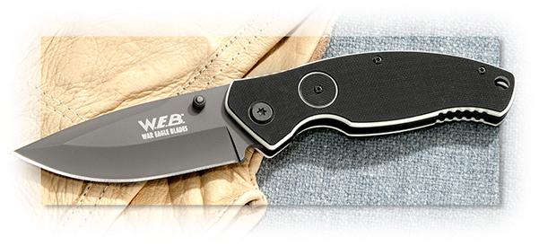 War Eagle Blades Button Assist Folder