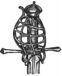 Unusual German blade with Baskethilt