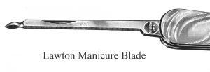 Manicure Blade, Lawton