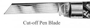 Pen Blade, Cut-off