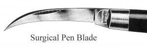 Pen Blade, Surgical