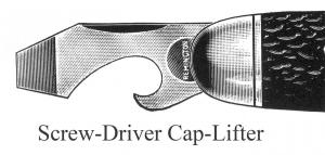 Screw-Driver Cap-Lifter