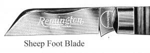 Sheepfoot Blade