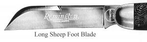 Sheepfoot Blade, Long